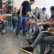 Poetry-Slam mit den achten Hauptschulklassen